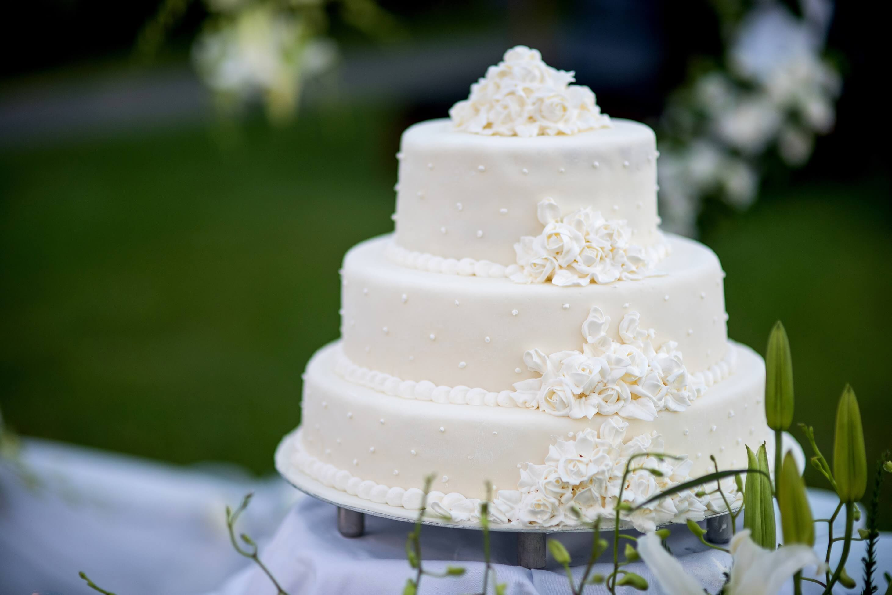 Wedding Cake Utah Marzipan
