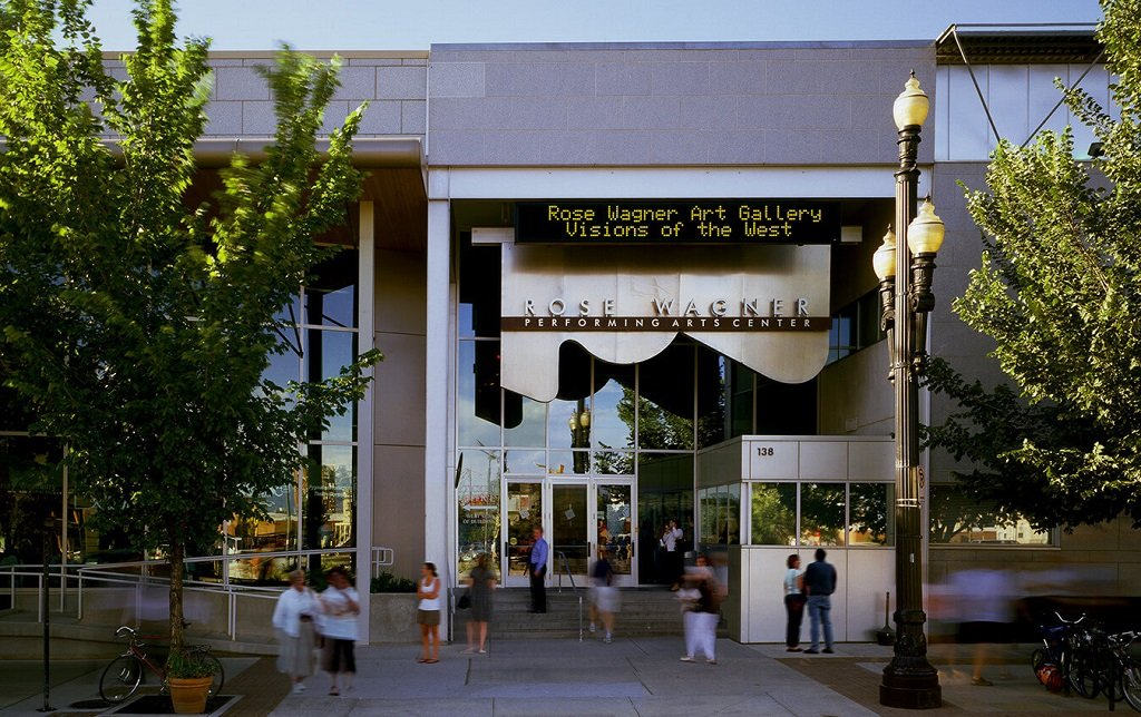 Rose Wagner Theater in Salt Lake City, Utah