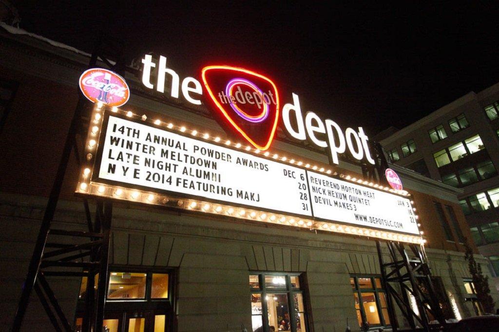 The Depot in Salt Lake City, Ut
