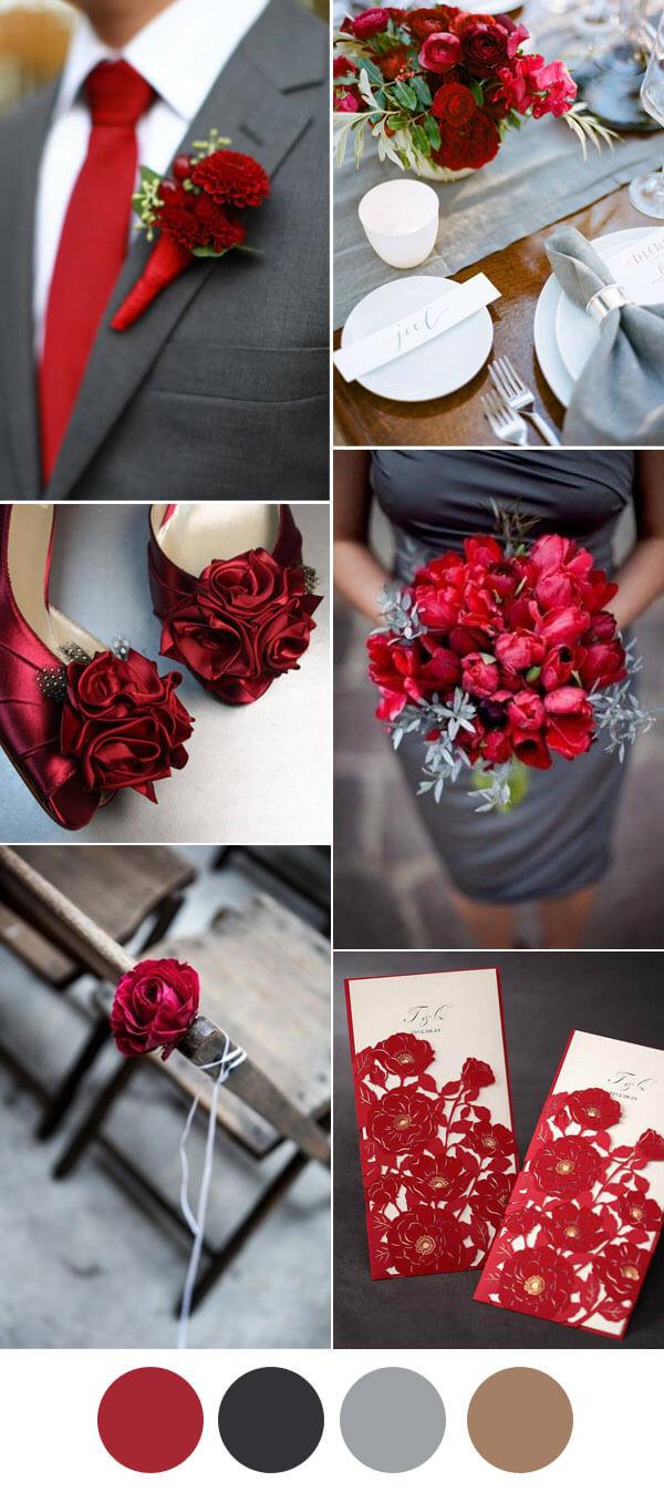 elegant-dark-grey-and-red-wedding-color-inspiration