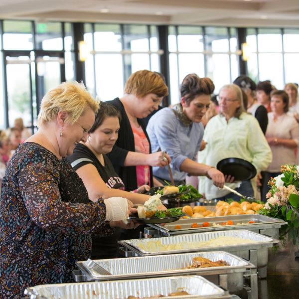 Buffet Wedding Catering